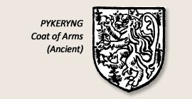Pykeryng Coat of Arms