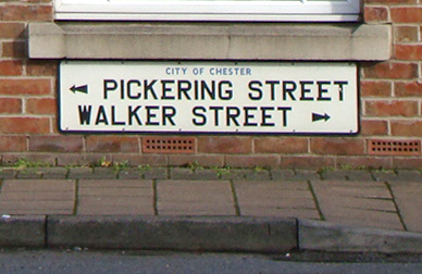 Pickering and Walker Streets